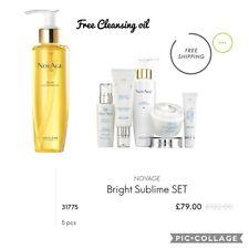 NOVAGE Bright Sublime SET + Novage Cleansing Oil, 5 pieces set, dark spots reduc