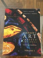 Gardners Art Through The Ages The Western Perspective Vol. 1-12th Edition.