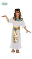 GUIRCA Costume vestito Nefertiti egiziana carnevale bambina Faraone Regina 83384