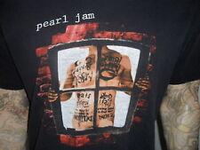 vtg 90's PEARL JAM CONCERT SHIRT Vs. Tour Window Pain