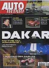 AUTO HEBDO n°1578 du 3 Janvier 2007 DAKAR MORGAN AERO 8 CITROEN C4 WRC