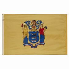 4x6 ft NEW JERSEY The Garden State OFFICIAL STATE FLAG Outdoor Nylon USA Made