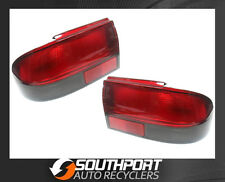 HOLDEN VR VS COMMODORE TAIL LIGHTS LAMPS RED/CLEAR SUIT SEDAN *NEW PAIR*
