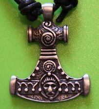 Mjolnir Thor's Hammer Peltre Colgante-nórdica-Viking-Gótico