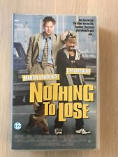 Nothing To Lose VHS Video Tape English with dutch subs clamshell