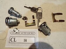 67 68 69 70 71 72  Chevy GMC Truck Ignition and Door Locks W/ 2 Matching GM Keys