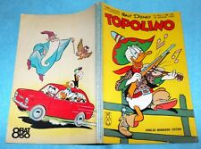 TOPOLINO N. 456 23/8/1964 CON BOLLINO = RETRO PUBBLICITA' FIAT 850 = ALTRI ASTA