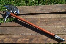 16th Century German Battle Axe - Medieval  - Half Moon Blade - Denix Replica
