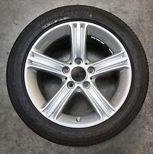 "17"" BMW 3 Series Style 393 Silver OEM Wheel and Tire Rim 71535 7.5 Bridgestone"