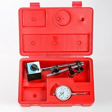 Dial Indicator Gauge Magnetic Base Set Test Precision With Onoff