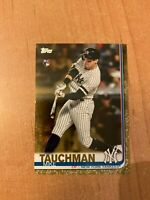 2019 Topps Update - Mike Tauchman - #US2 Gold Parallel Rookie RC /2019