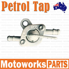 6mm Inline Fuel Tank Tap Filter Petcock Switch Pit Quad Buggy Trail Bike Dirt