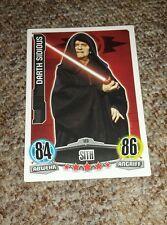 """Star Wars Sammelkarte """"Darth Sidious"""" Nr. 123 Sith"""