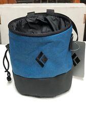 Black Diamond Mojo Zip Chalk Bag - Astral Blue / Slate S / M