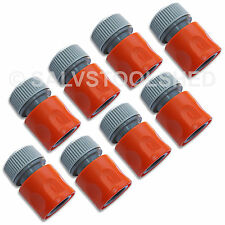 "8 × Quick Connector Snap On Fittings for Garden Water Tap Hose 1/2"" 12mm"