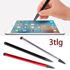 3 Kapazitiver Pen Touch Screen Stylus Bleistift für Tablet iPad Handy Samsung PC