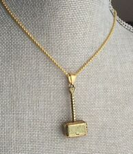 Thor weapon, Thor hammer, gift for him, Mjolnir, superman jewelry,Viking pendant