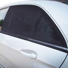 TFY Anti-UV Car Side Window Sun Shade Fabric Mesh Double Layer Design - 2 Pieces