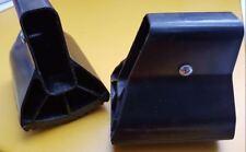 Ersatzteile 2 Querfüße Querbalken Traversenfußkappe HAILO  50x20 mm  955 1067689