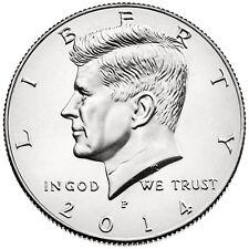2014 KENNEDY HALF DOLLAR P or D MINT 1-COIN BRILLIANT UNCIRCULATED