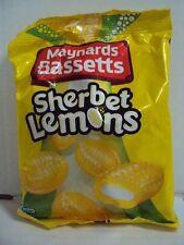 "BRITISH SWEETS / CANDY ""MAYNARDS / BASSETTS SHERBET LEMONS"" 7oz/192g NEW"