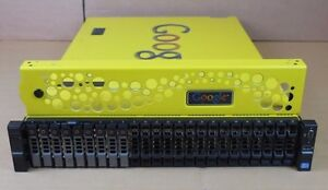 Google Dell R720xd G100 2x Six-Core Xeon 2.50GHz 96GB 2.73TB 2U Rack Server