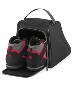 Hiking Boot Bag Walking Carry Case Black Tough Ventilated Work Sports Shoe Trave