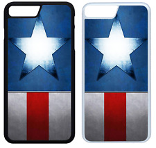 Captain America Superheld Marvel Handy Hülle Cover iPhone 4 5 SE 6 7 8 X (Set 2)
