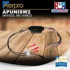 Aerpro APUNISW2 Universal Steering Wheel Control SWC Harness Interface