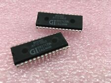 (2 pcs) AY-3-8912 GI, Programmable Sound Generator IC, 28-Pin DIP Package