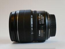 Canon EF-S 15-85mm f/3.5-5.6 IS USM Lens -Image Stabilized Autofocus Zoom Lens