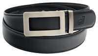 QHA Mens Automatic Ratchet Belt For Men Luxury Fashion Waist Buckle Gift New Q34