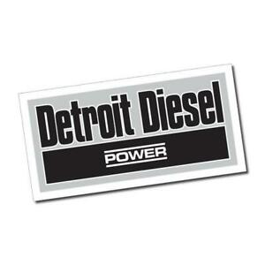 Detroit Diesel Power Sticker / Decal - Vinyl Car Window Laptop