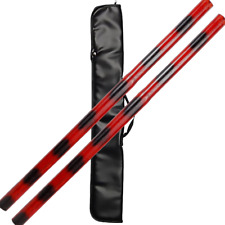 """26"""" Stained Rattan Escrima Stick Set"""