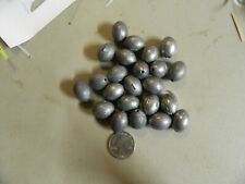 40 1 Oz Egg Sinkers For Fishing other sizes avaible also