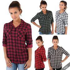 Damenblusen,-Tops & -Shirts im Blusen-Stil mit Rundhals und Viskose für Freizeit