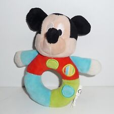 Doudou  Hochet Souris Mickey Disney