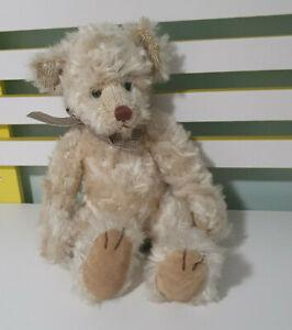 RUSS BERRIE CLARIDGE TEDDY BEAR 38CM