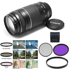 Canon EF 75-300mm f/4.0-5.6 III Autofocus + UV + CPL + FLD for 6D, 60D, 7D, 70D