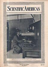 1914 Scientific American October 31 -Colin-Jeance Wireless;Navy wants dirigibles