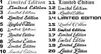 Limited Edition viele Versionen und Farben Aufkleber Sticker Shocker Tuning