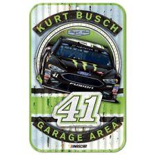 Kurt Busch 2018 Wincraft #41 Monster Energy 11x17 Garage Area Sign FREE SHIP