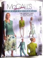 McCALLS Sewing Pattern No. M5396 LADIES The Perfect Suit  size 6,8,10,12