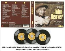 John Denver Very Best Greatest Hits Collection - RARE Country Folk Americana 3CD