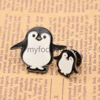 Enamel Penguin Brooch Pin Shirt Collar Accessory Women Jewellery Breastpin Gift