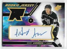 20/21 SPx ROOKIES GOLD SPECTRUM AUTOGRAPH JERSEY #MA Mikey Anderson #5/49