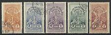 ETHIOPIA 1930 CORONATION 2nd ISSUE PART SET USED