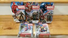 MARVEL UNIVERSE LOT OF 5 ACTION FIGURES ~ Capt. America, Thor, DareDevil ~ MOC!