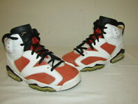 Nike Air Jordan Retro VI 6 GATORADE Summit Orange LIKE MIKE 384664-145 Sz 9