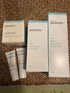 PROACTIV Lot of 5~Exfoliator~Pore Treatment~Moisturize Repair~Green Tea~New